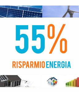 Detrazioni Fiscali del 55% per Impianti a basso consumo energetico