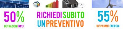 Richiedi un Preventivo ad A.M.C.N. e beneficia delle Detrazioni Fiscali del Decreto Sviluppo